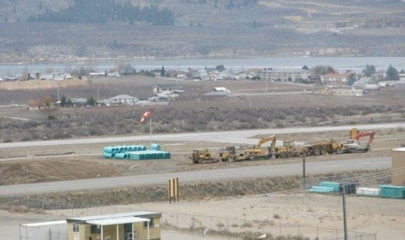 Airport Subdivision Construction in Osoyoos